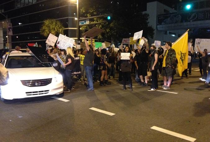Police Brutality Protests Spread to Tampa, Miami | WUSF News