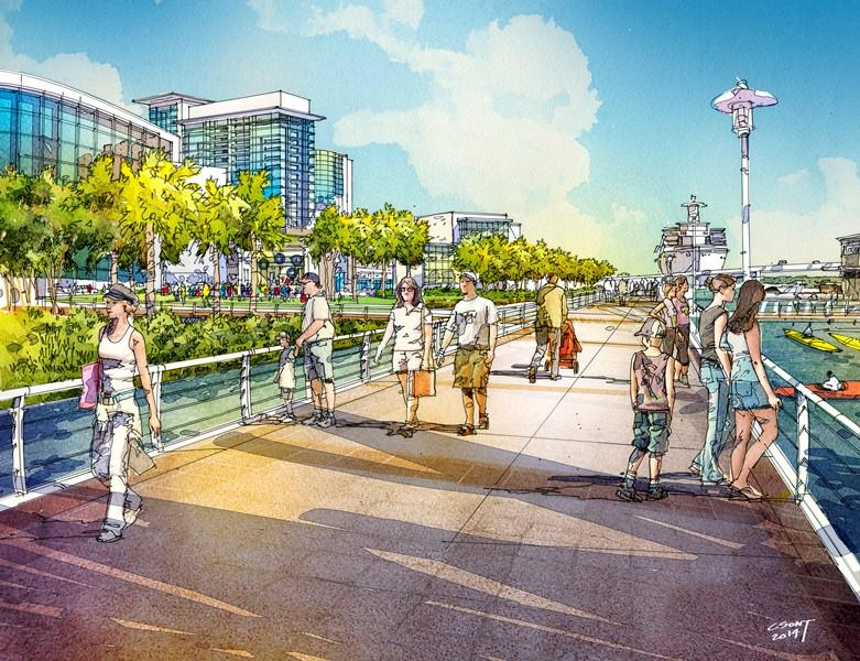 Jeff Vinik says the redevelopment will 'activate' Tampa's waterfront with areas for biking and walking