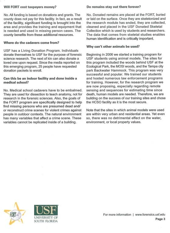 page 3 of frequently asked questions about the proposed facility