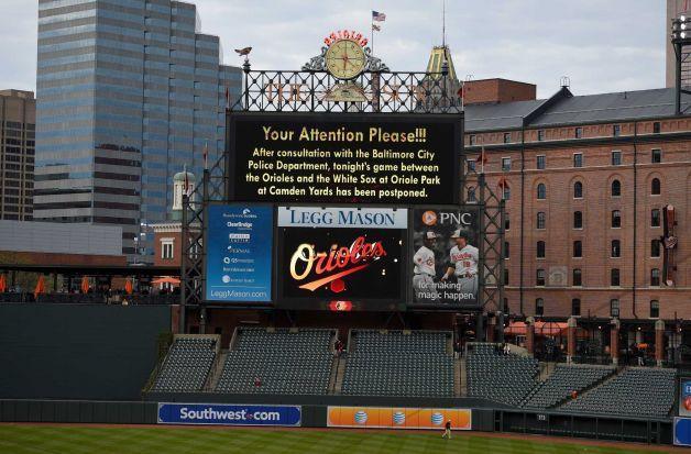 Baltimore Orioles Food Menu