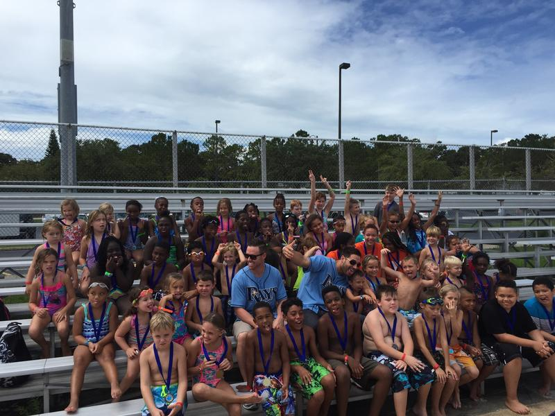 75 swimmers received medals for passing their swim safety tests this summer.