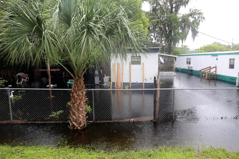 More than a dozen houses and businesses faced severe flooding in Southwest Pasco County this weekend after heavy rains made the Anclote River rise to above 23 inches.