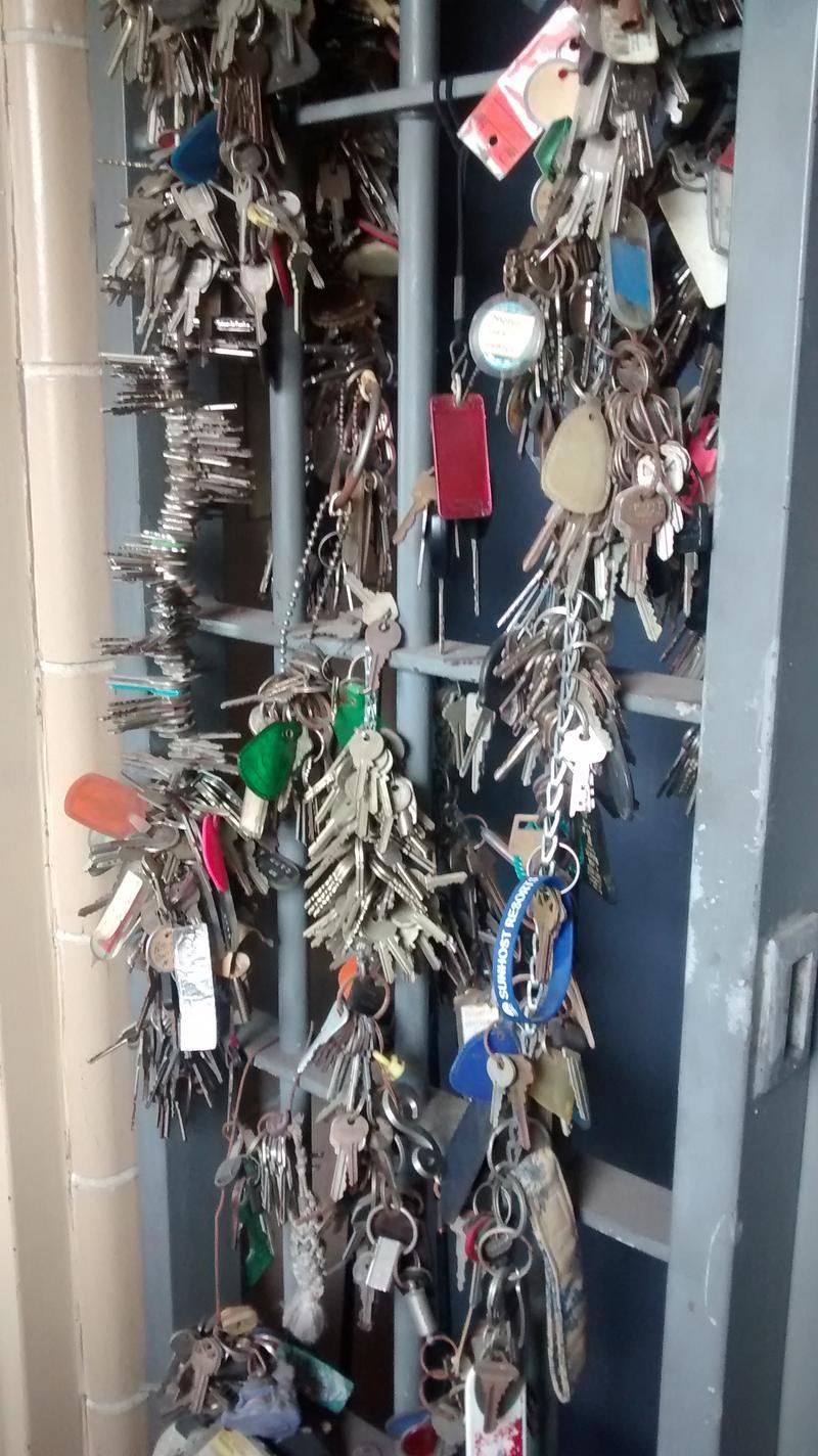 Keys Found At Fort De Soto Park