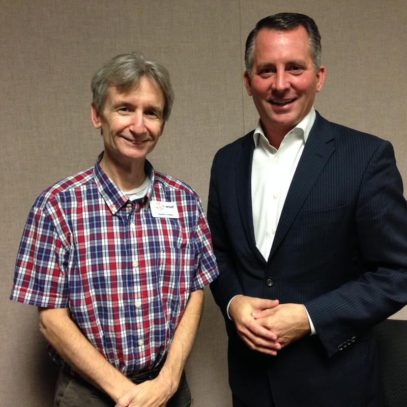 Florida Matters host Carson Cooper and U.S. Rep. David Jolly, who represents the 13th Congressional district.