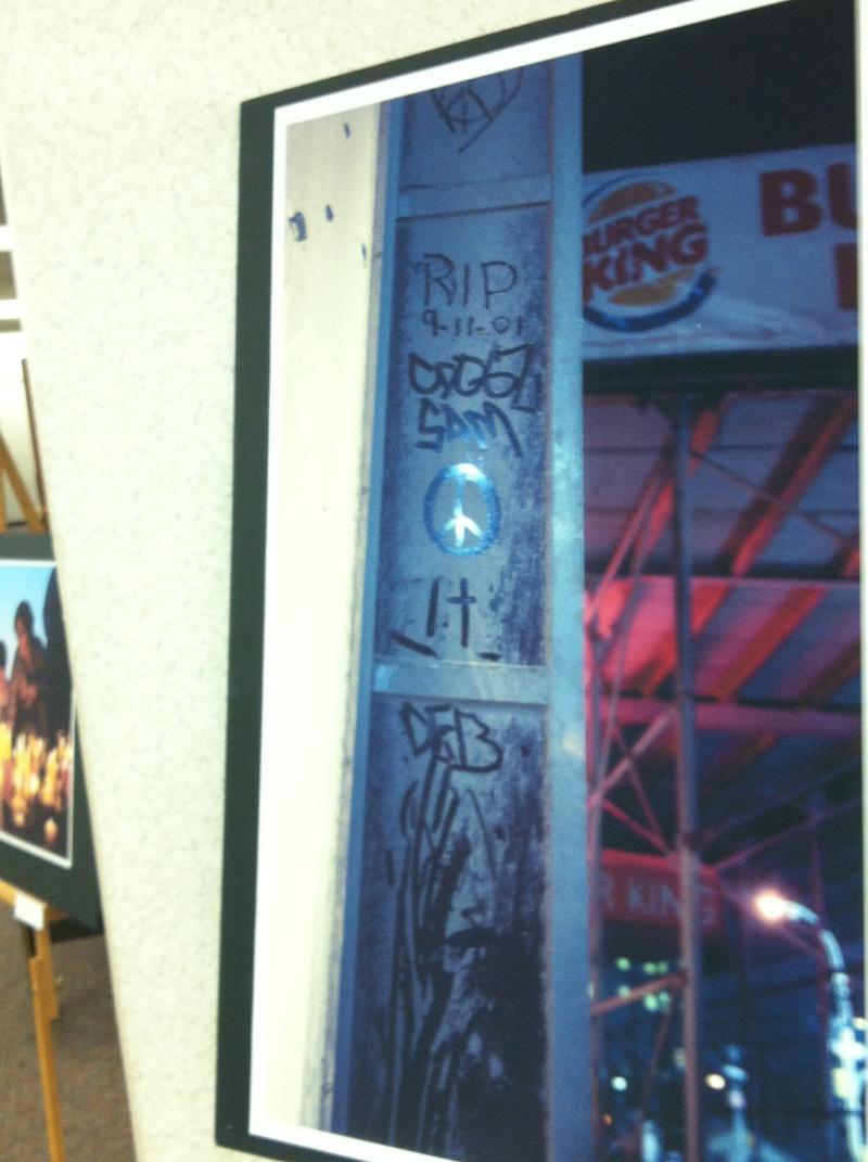 Graffiti near Ground Zero