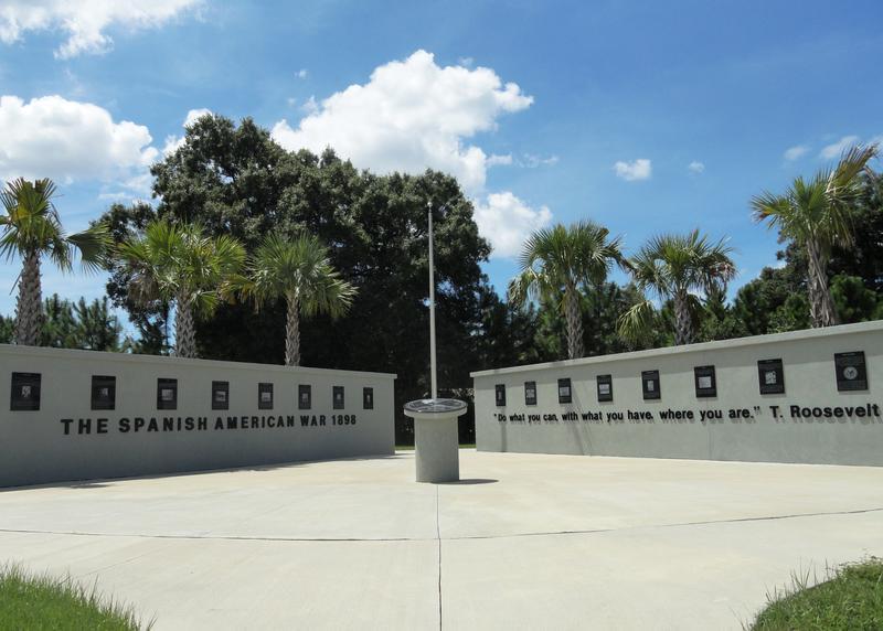 The Spanish American War Memorial.
