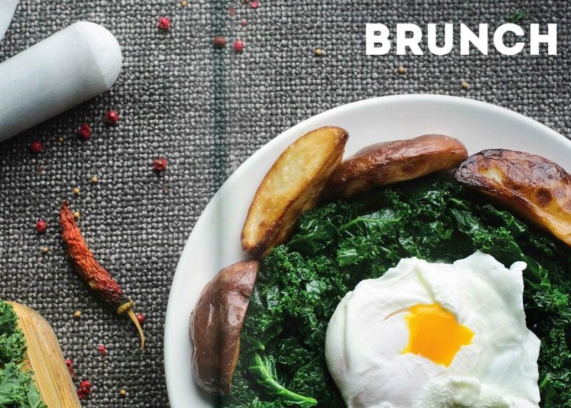 "Brunch is one of 11 chapters in the 224 page cookbook, ""Food + Art."""
