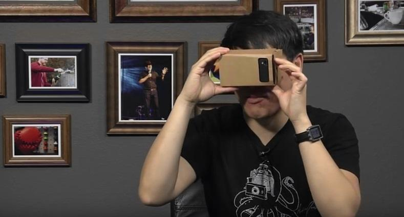 The folks from Tested test out Google Cardboard