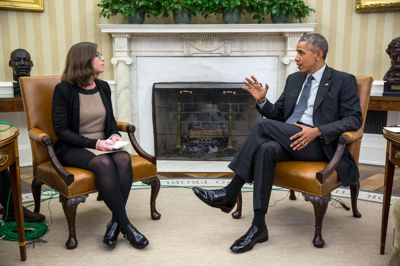WUSF's Mary Shedden interviewed President Barack Obama last week at The White House.