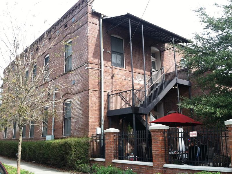 The Athena House is a historic brick building that at one time housed WWI and WWII veterans in Ybor City.