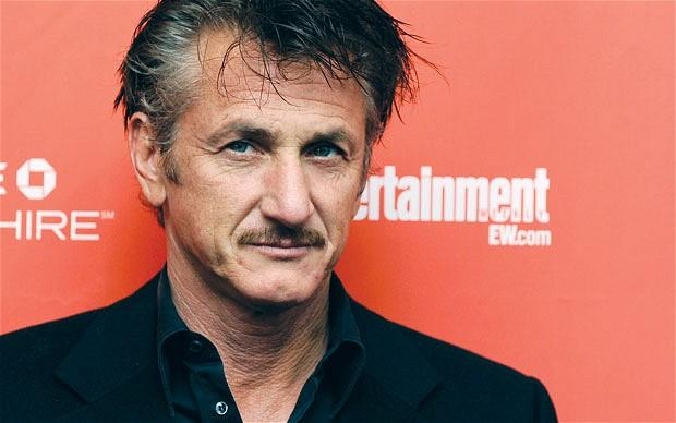 Actor turned journalist Sean Penn