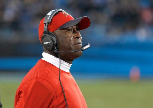 Lovie Smith didn't know it at the time, but this past Sunday's game against the Carolina Panthers was his last as head coach of the Tampa Bay Buccaneers. The team announced Smith's firing late Wednesday night
