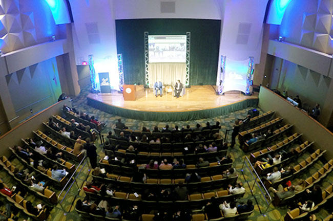 Like this year's USF Sport & Entertainment Lecture Series, last year's event drew a variety of speakers.