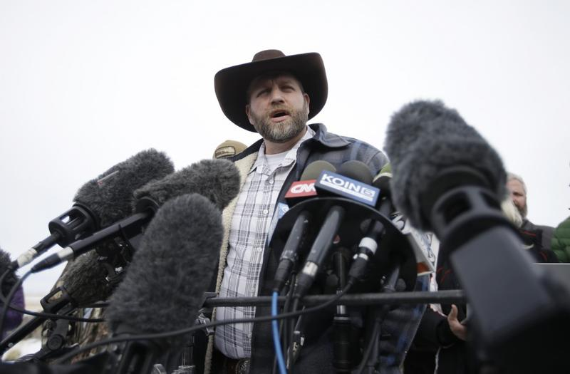 Ammon Bundy, the leader of the armed occupation of an Oregon U.S. Fish and Wildlife Building