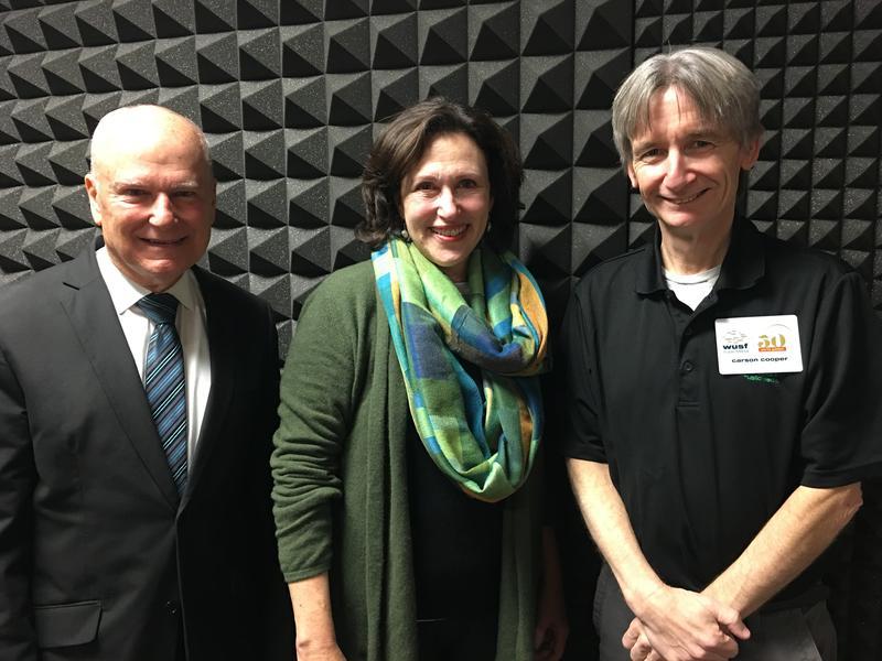 Ray Chiaramonte, Linda Saul-Sena and Carson Cooper