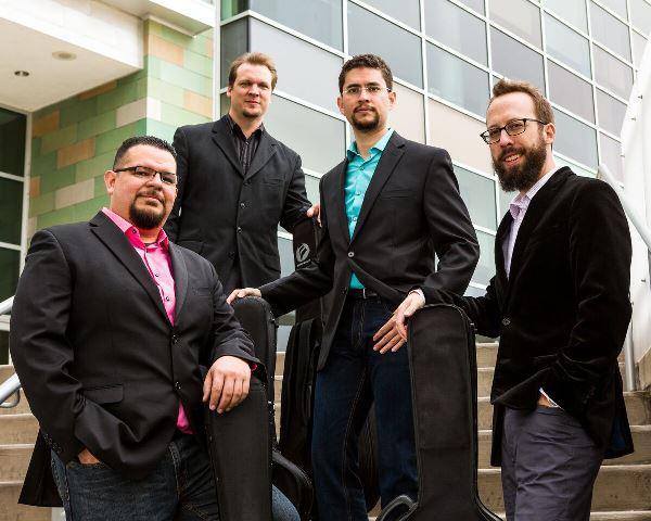 from left: Isaac Bustos, Jon Dotson, Alejandro Montiel and Joe Williams