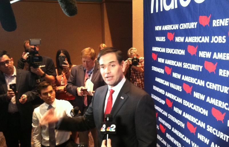 U.S. Senator Marco Rubio announced plans to run for reelection on Wednesday.