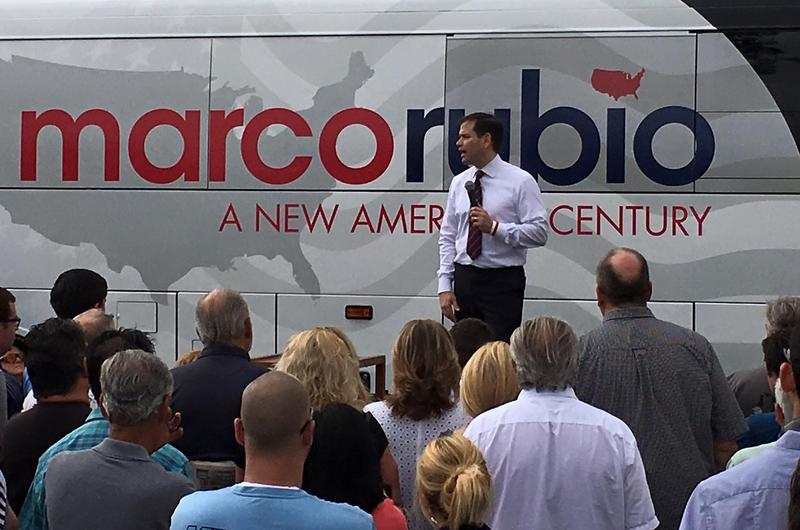 Marco Rubio rally in Largo on Saturday, March 12