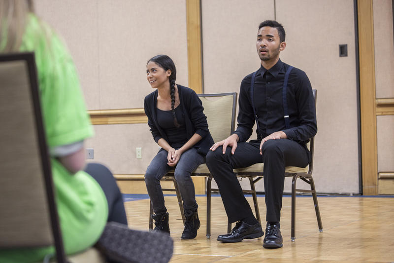 The four-day event featured perfomances and workshops ranging from auditioning to costume design.