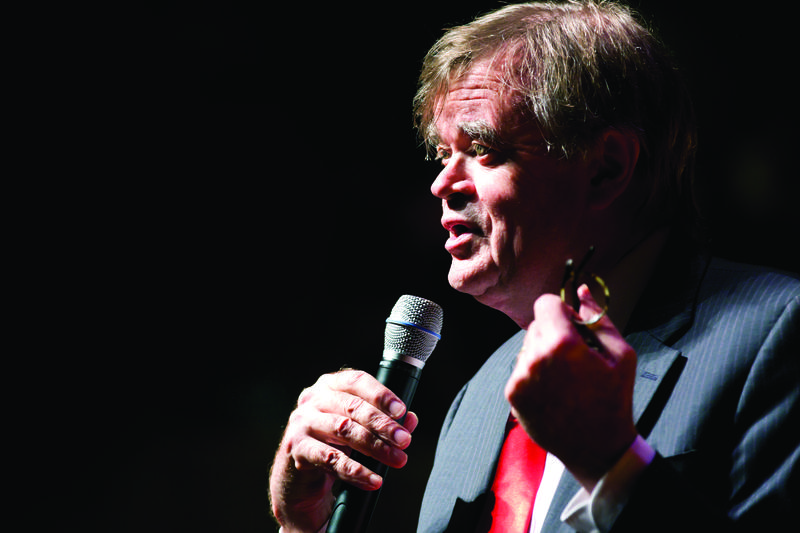 Garrison Keillor announced his retirement last year