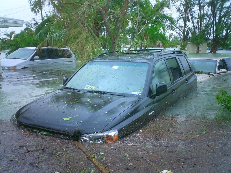 Flooding in Key West Caused by Hurricane Wilma