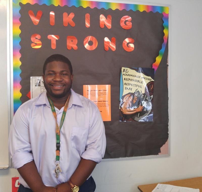 Vernon White Jr. teaches 6th grade social studies at McLane Middle School in Brandon