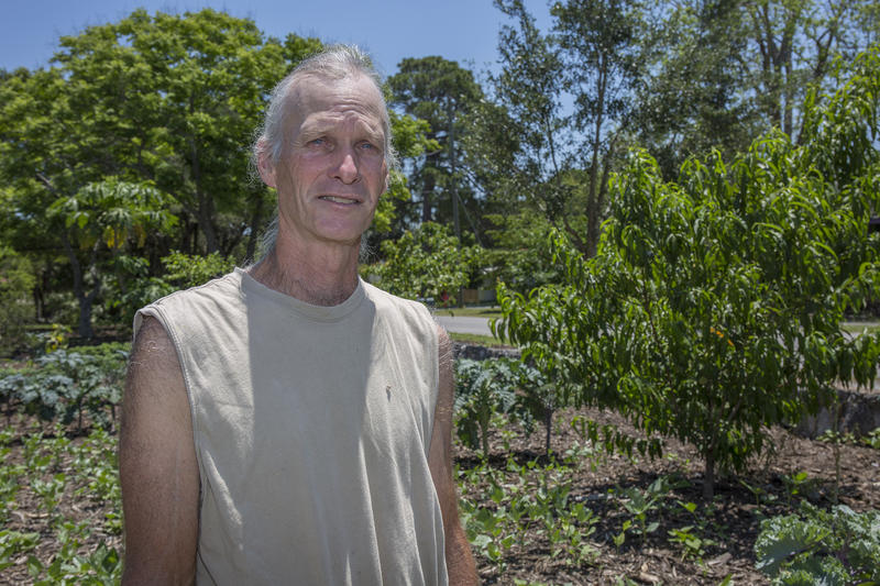 Jim Kovaleski of New Port Richey said that on half an acre of land,  he grows hundreds of different types of vegetables, which he sells at the local farmers market, Tasty Tuesdays.