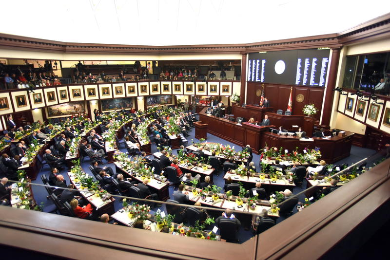 The Florida House on the opening day of the 2016 session.