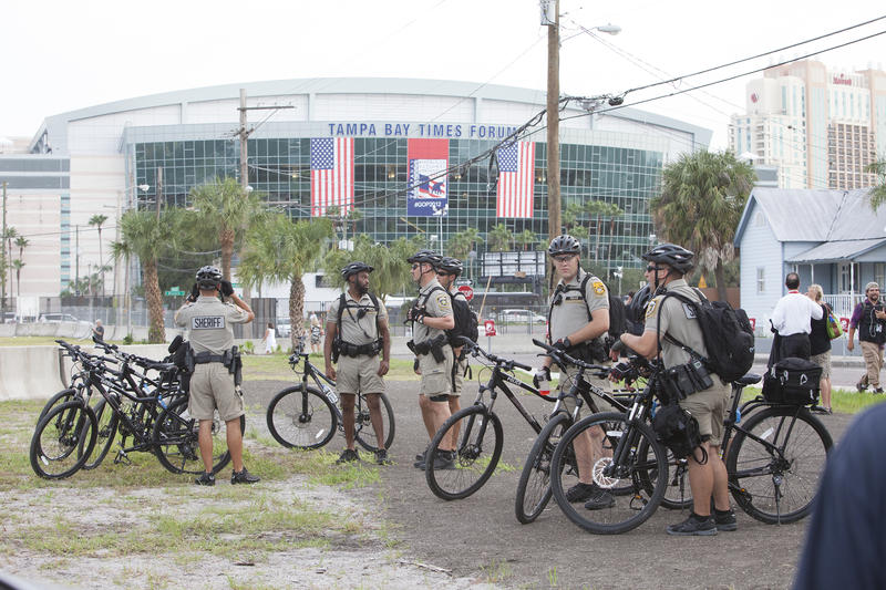 Tampa hosted the RNC in 2012. Tampa P.D. advised Cleveland on how to handle the influx of RNC visitors.