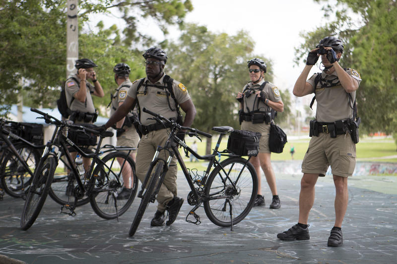 Tampa police officers have used bicycles purchased for the RNC in 2012 for a variety of events.