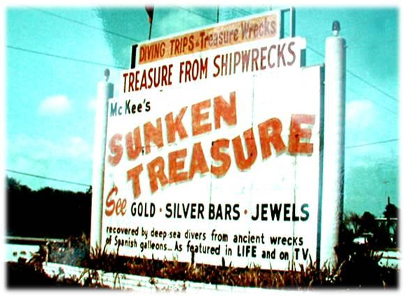 Art McKee's Diving Trips and Treasure Museum in the Florida Keys.