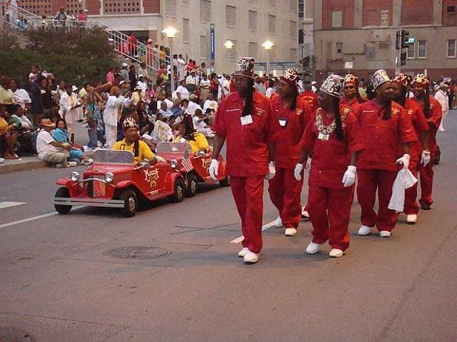 Shriners parade in Ybor City during one of their previous Imperial Sessions.