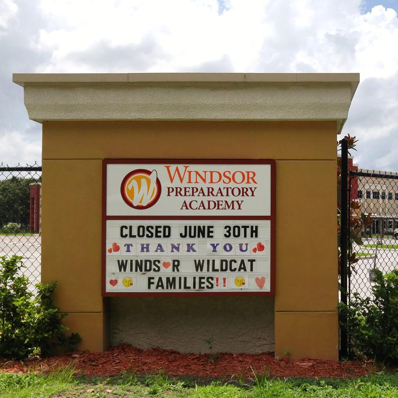 Windsor Preparatory Academy closed in June