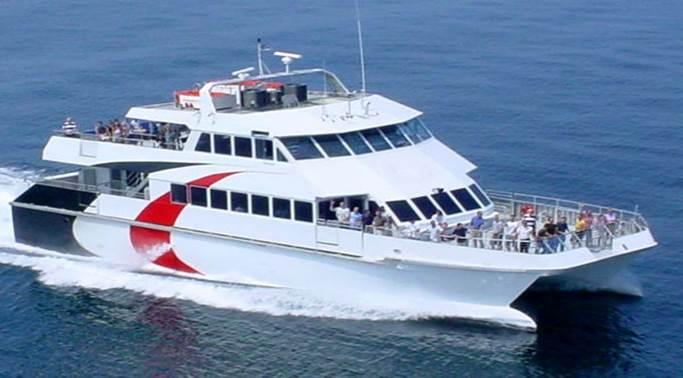 A ferry could connect Tampa and St. Petersburg in November when approved by four different city councils.