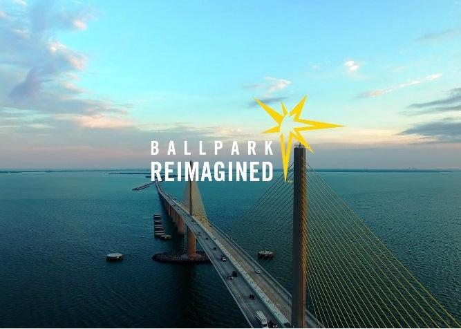 The Rays want their new ballpark to be as iconic and beautifully designed as the Sunshine Skyway Bridge.