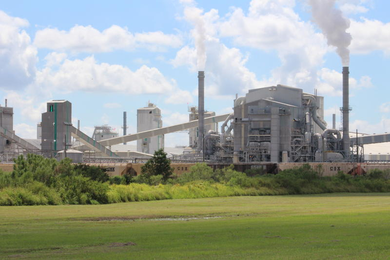 Mosaic's New Wales phosphate manufacturing plant