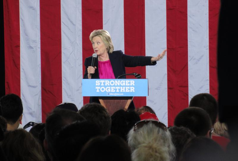 Hillary Clinton speaks at USF Tampa