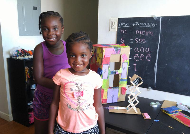 Nadia Hardy is 6 and her sister Ava Hardy is 4. Nadia recently tested above average in math.