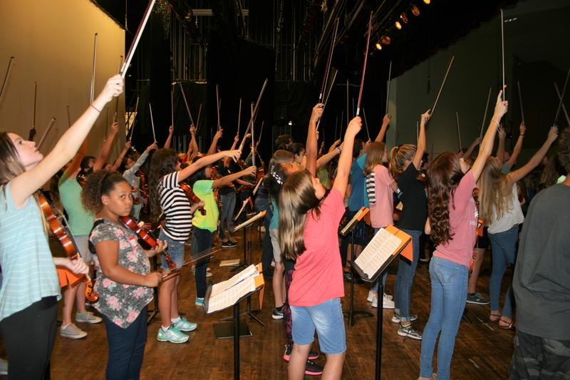 At the conclusion of this two-day workshop, students from Seminole High School and Middle school played a rock concert.