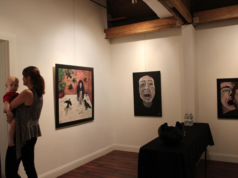 Platform Art gallery with art by Paola Martinez