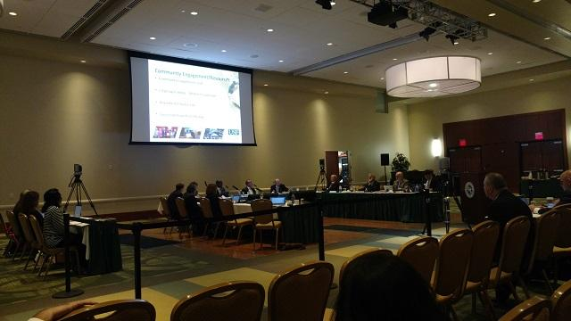 The USF Board of Trustees held its final meeting of 2016 on the Tampa campus Thursday.