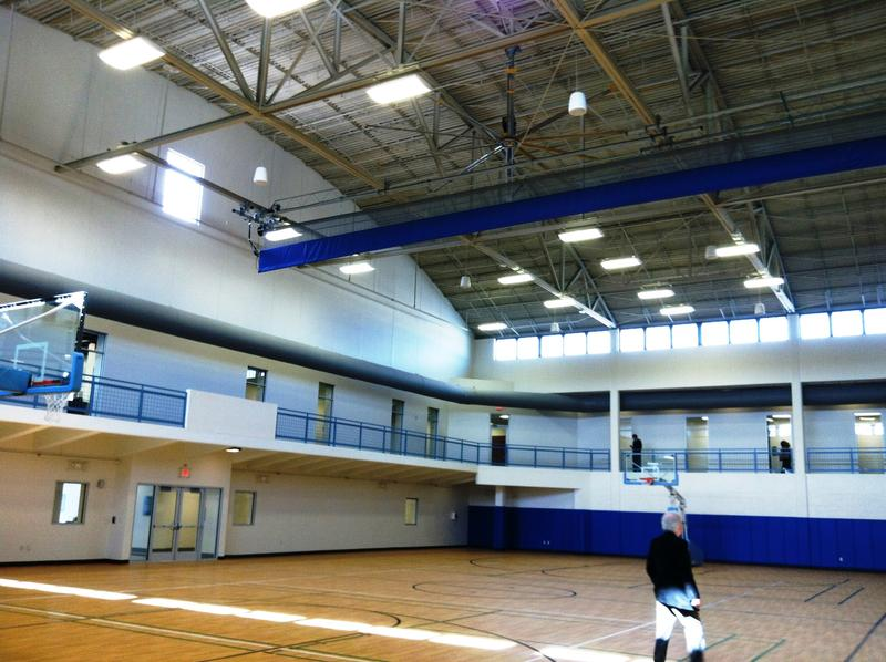 The new gymnasium