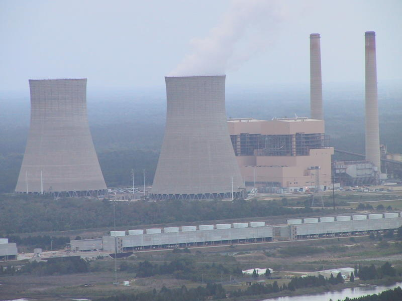 Duke Energy's Crystal River power plant