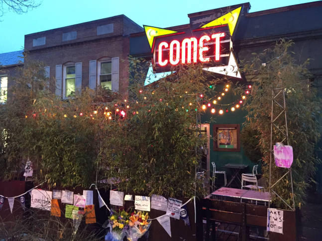"""Comet Ping Pong in Washington, D.C., purported site of """"Pizzagate"""""""