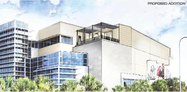 This is the proposed exterior of the Tampa Bay History Center once construction begins next month. The expansion will be completed next fall.