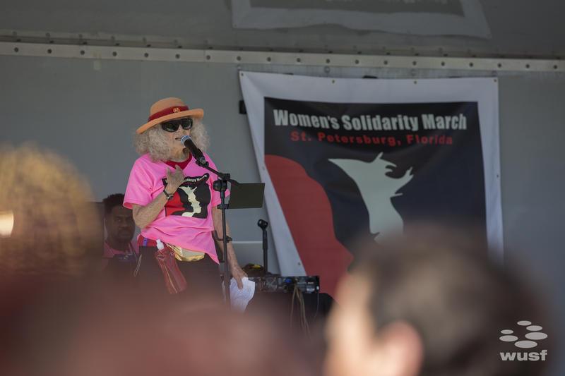 Suzanne Benton, co-organizer.