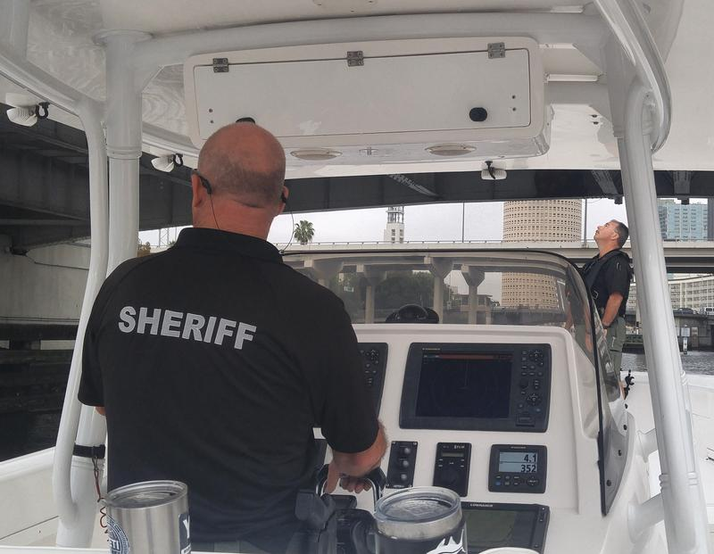 The Hillsborough County Sheriff's Office Marine Unit prepares for a busy weekend of festivities on Tampa's waterfront.