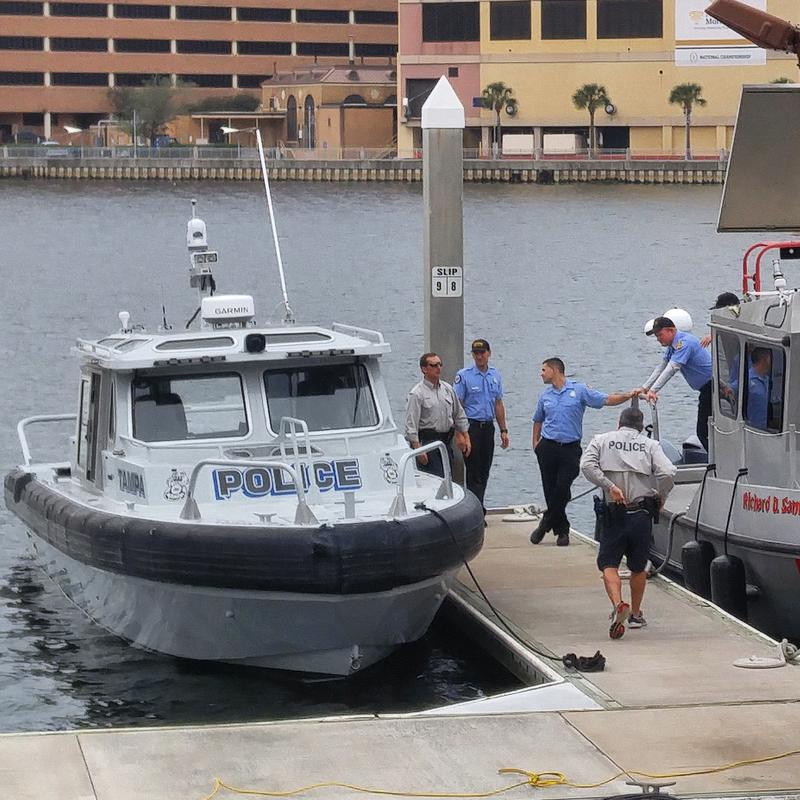 Tampa Police, Tampa Fire Rescue, Hillsborough County Sheriff's Office, Florida Fish and Wildlife Conservation Commission and U.S. Coast Guard marine units will be patrolling the waterfront ahead of gameday.