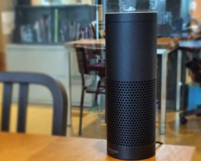 Amazon's Echo is a voice-activated smart speaker.