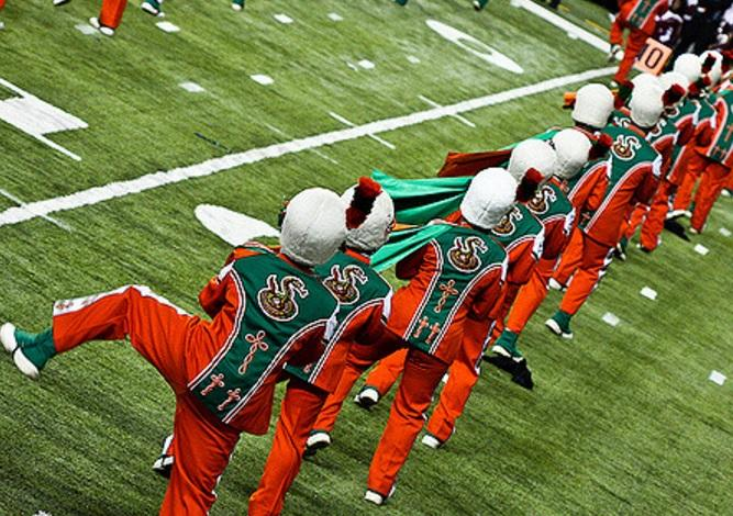 Florida A&M band